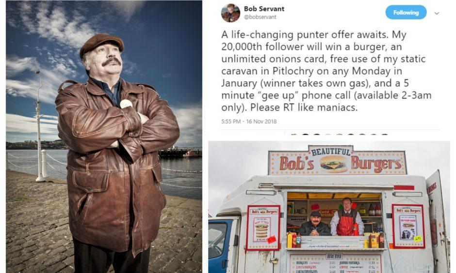EXCLUSIVE: 'I don't sell cheeseburgers, I sell dreams' - Bob