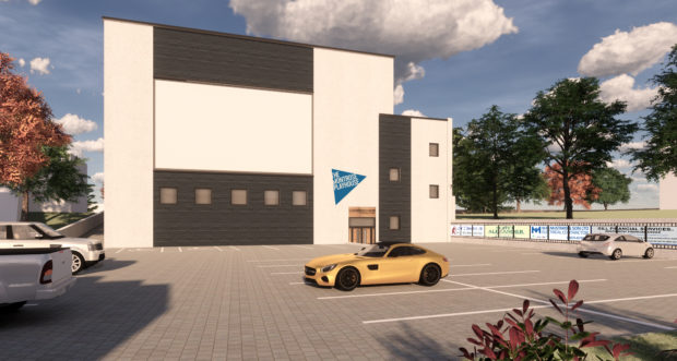 A design impression of the Playhouse project