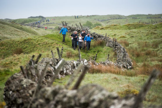 It's almost time for Cateran Yomp 2019 and fundraisers are going all out to raise vital funds for ABF The Soldiers' Charity.