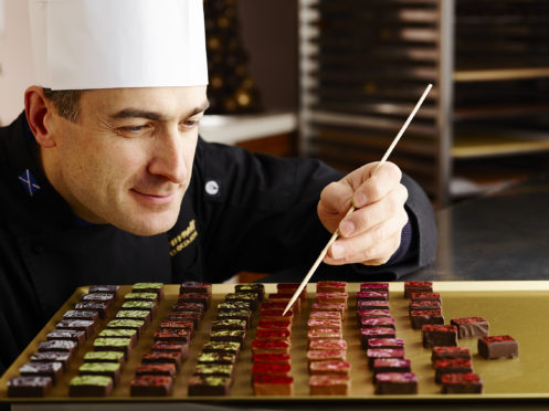 Iain Burnett produces some of the world's very finest chocolates from his base in Perthshire.