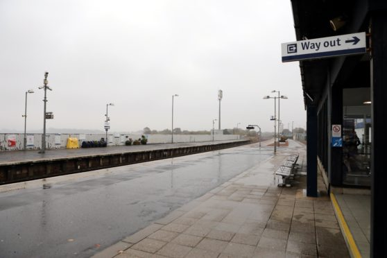 War of words over 'unacceptable' delay for Montrose station