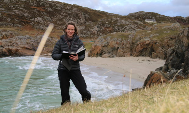 Helen Glassford immersed herself in the Scottish landscape