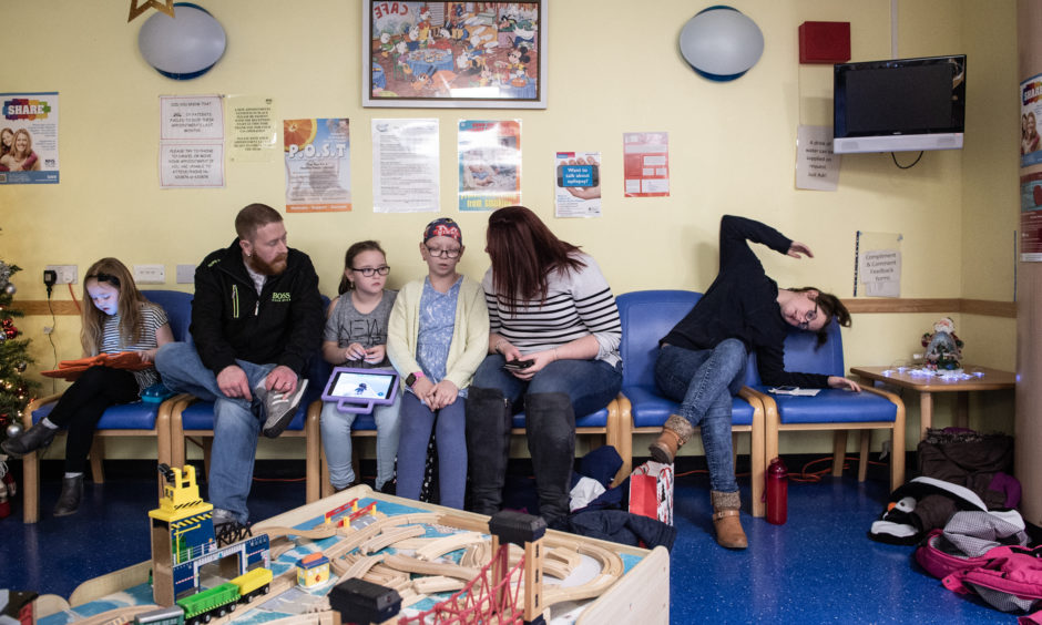 School holidays meant the whole family could support Holly. All photos  Graham Miller/ReallyRealResources
