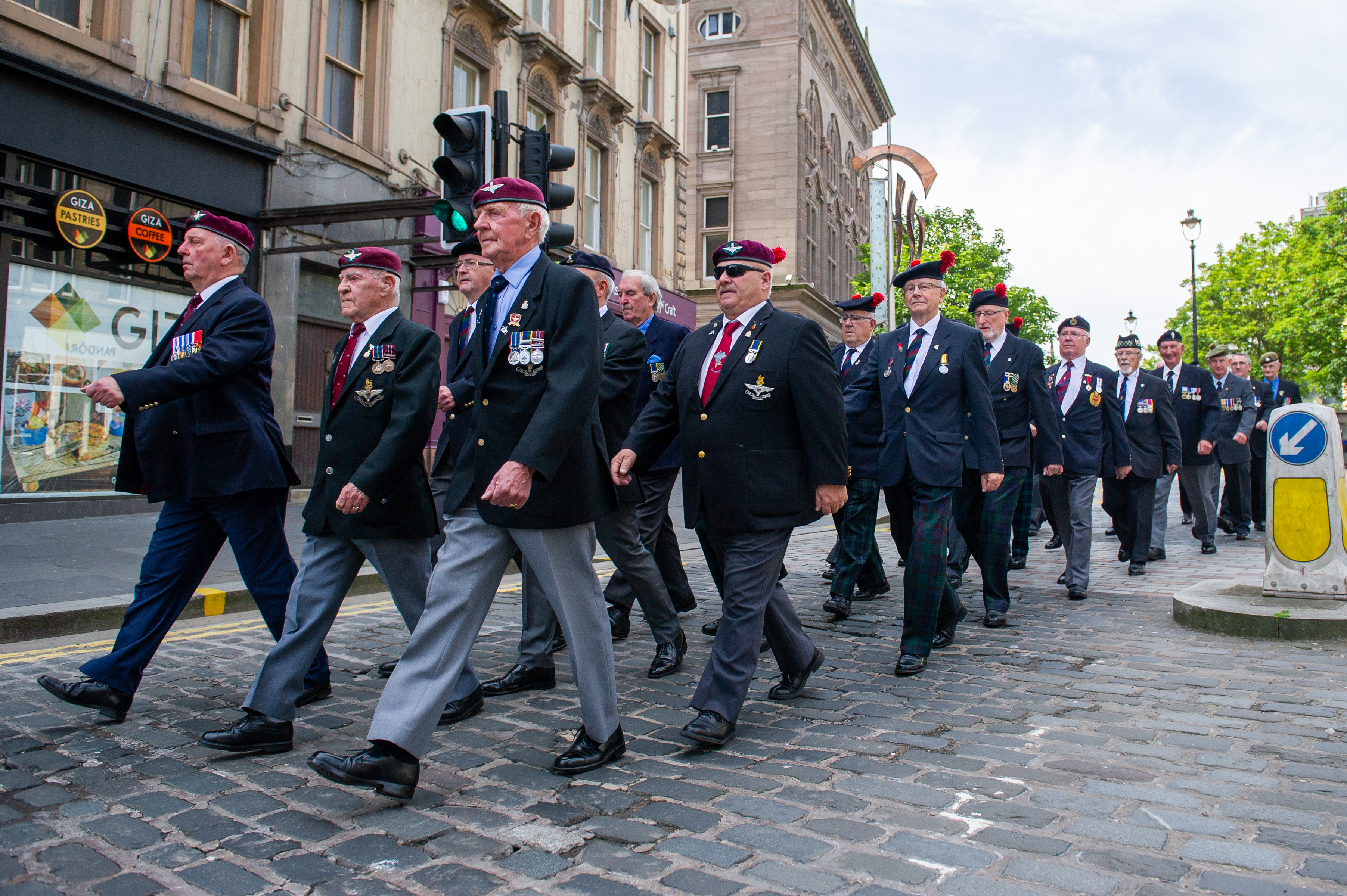 VIDEO: Dundee veterans celebrate city's proud history with Armed Forces Day parade - The Courier