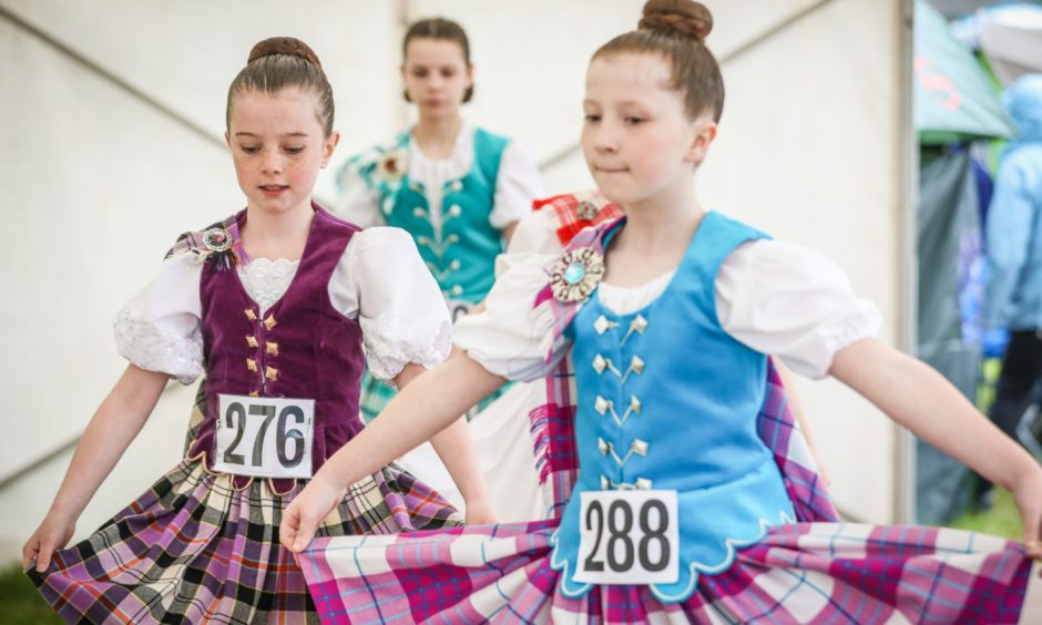 Highland Dancers competing at the Angus Show. All photos Kris Miller/DCT Media.