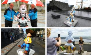Oor Wullie's Big Bucket Trial has been launched.