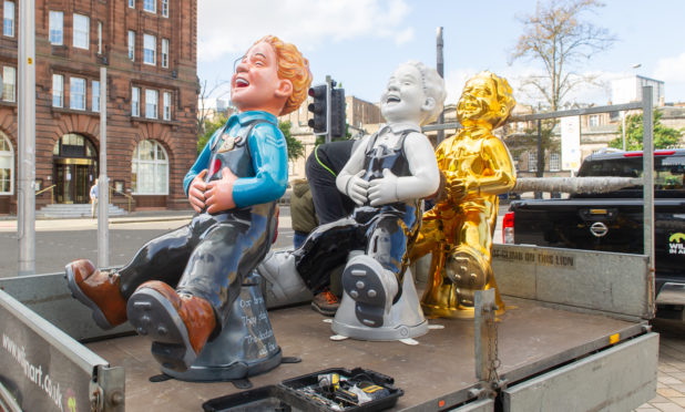 Designs for the new Oor Wullies are being kept under wraps.