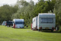 Some of the Travellers remain at Wards Park
