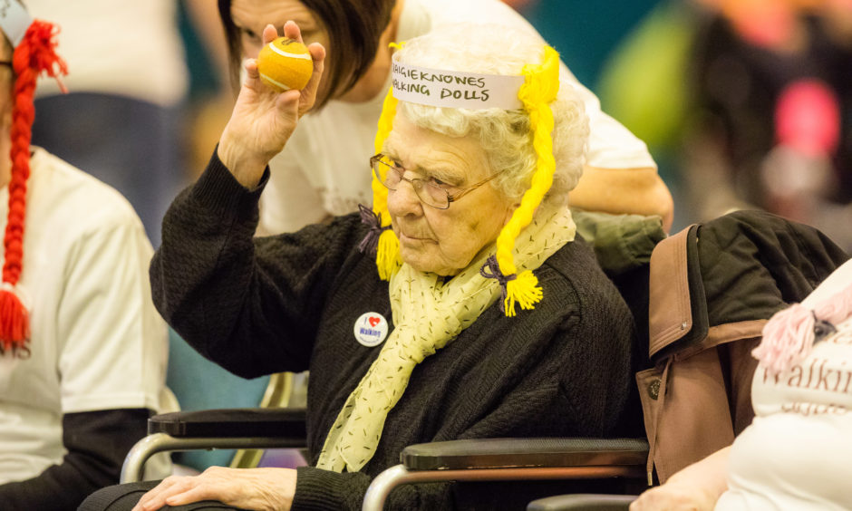 Hazel Campbell from Craigieknowes Care Home in Perth.