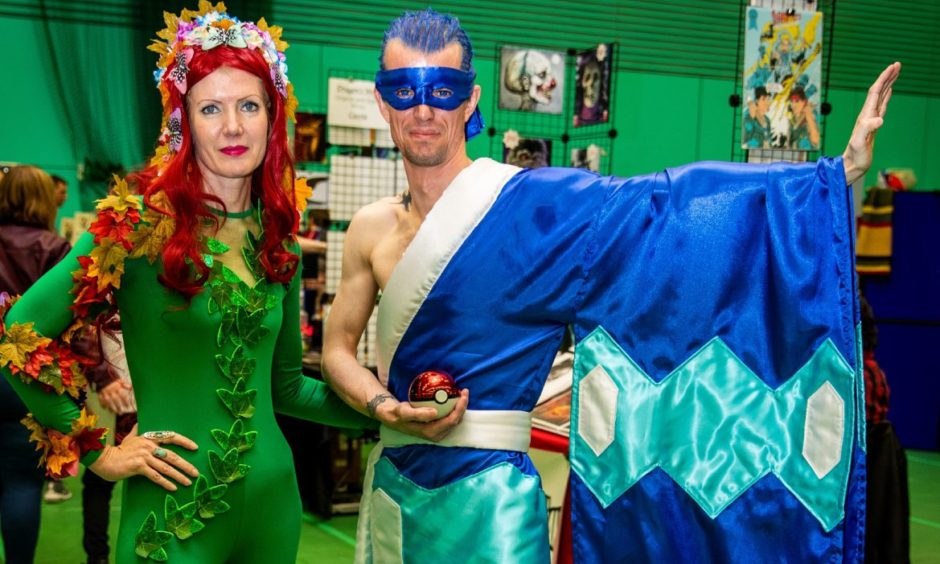 Brother and Sister Marie and Stevie Wrightson as Poison Ivy and Brycen (Pokemon).