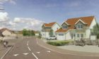 An artist impression of how the new housing could look.