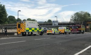 Rescue crews called to Tay Street