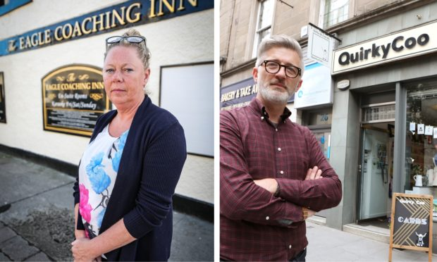 Both the Eagle Coaching Inn and the Quirky Coo were targeted by criminals this week.