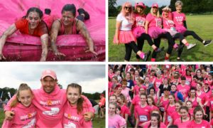 The Dundee Race for Life.