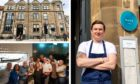 Dean Banks welcomed some high-profile diners to his restaurant.