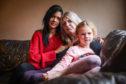 Annie Murray with sister Deborah Murray, and Deborah's daughter Tayluer Stewart