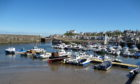 Breathing new life into an old harbour, the marina at Findochty. Picture: Angus Whitson.