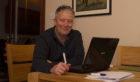 Ian Wren, fundraising manager for armed forces welfare charity Horseback UK.