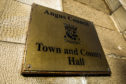 The meeting was held in the Town and County Hall in Forfar.