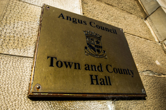 The meeting was held in the Town and County Hall, Forfar.