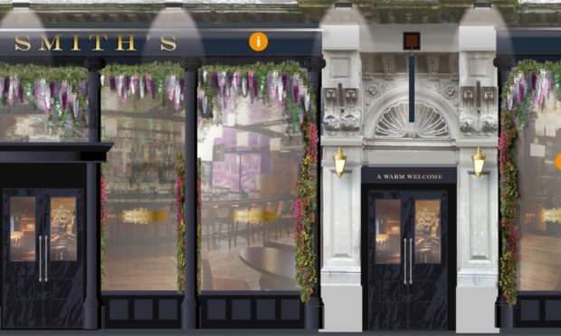 Artists impression of plans for The Mercantile pub in Dundee