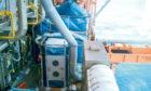 A Safehouse Habitats module on a rig