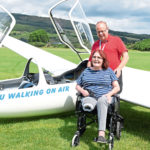 Dundee stroke amputee Angie is back 'walking on air'