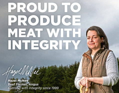 Hazel McNee from Tealing is one of the Meat with Integrity campaign's four public faces.