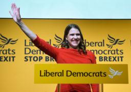 Jo Swinson MP,  leader of the Liberal Democrats.