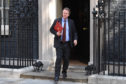Scotland Secretary Alister Jack leaves 10 Downing Street following the first cabinet meeting with new Prime minister Boris Johnson