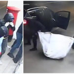 VIDEO: Masked bandits caught on camera raiding Perthshire convenience store