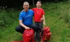 Ewen Cameron and son Fraser