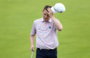Robert MacIntyre on the 18th hole at Portrush.