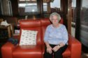 Mrs Youngs at her Broughty Ferry home