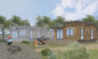 How the new lodges could look