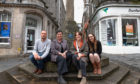 Chris Foote, Jane Livingstone, Jo Edgar and Lucy Watt