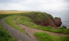 The Arbroath cliffs.