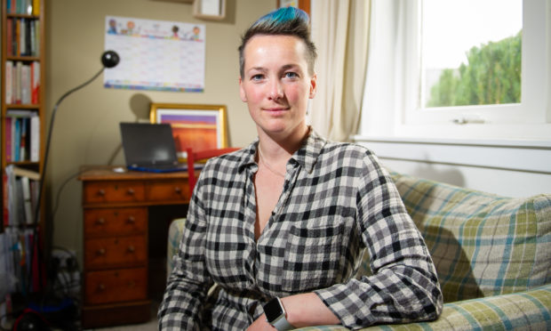 Claire Standen, a Longforgan-based life coach