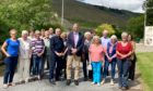 Pete Wishart MP and Cllr Mike Williamson met with dozens of Fearnan residents about Heart 200.