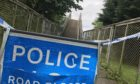 The White Bridge, off Rae Place, Perth, has been sealed off by police