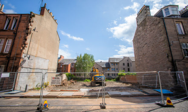The former church building Milne Street, Perth has been demolished amidst a major regeneration of the wider St Catherines area.