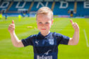 Dundee fan Matthew Barron (aged 5) from Perth.