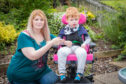 Roisin Johnston found the toilet was not suitable for her four-year-old son Indiana to use.