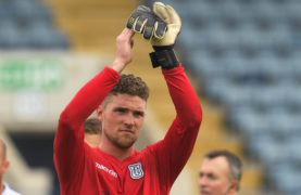 Jack's back for Dundee as goalkeeper Hamilton recovers to face Queen of the South
