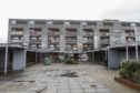 General views of the notorious flats at Glenwood Centre in Glenrothes.