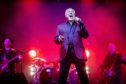 Tom Jones on stage in Dundee.