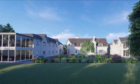 The proposed care home in Hepburn Gardens, St Andrews.