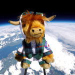 Video: Highland Coo-smonaut launched into near space to celebrate new tourism guide