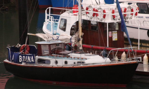 RNLI had to rescue the yacht from near the coast at Arbroath.