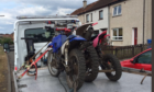 Police have been seizing illegal bikes